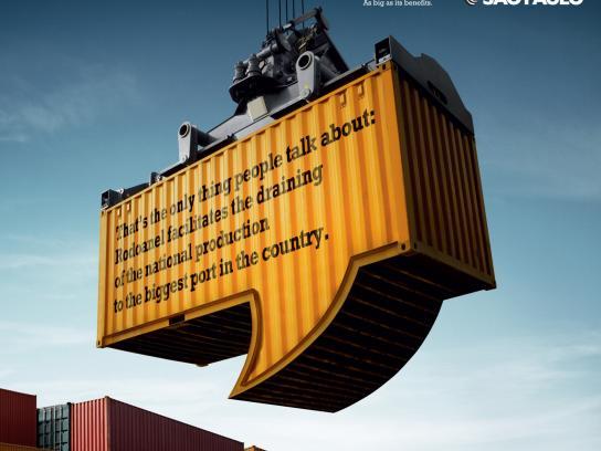 Governo do Estado Sao Paulo Print Ad -  Container