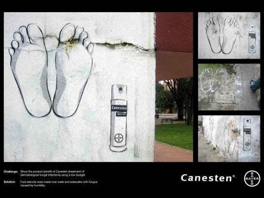Canesten Ambient Ad -  Feet