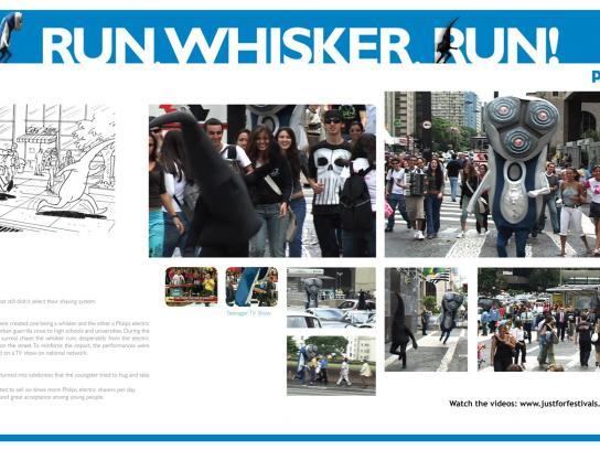 Run whisker