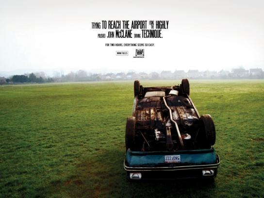 20th Century Fox Print Ad -  Car