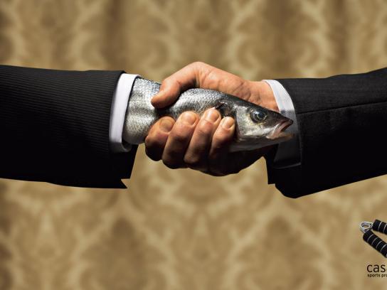 The Fishy Handshake