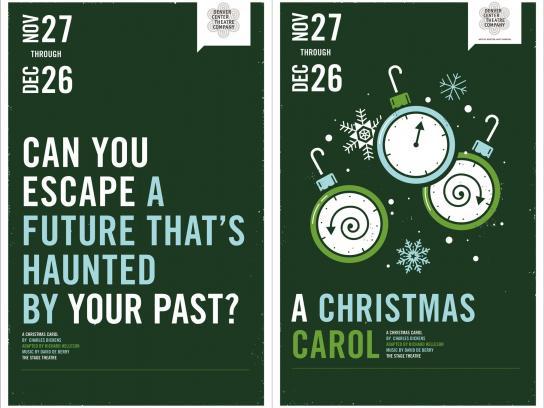 Denver Center Theater Print Ad -  AChristmas Carol