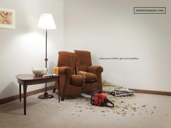 Siemens Print Ad -  Chainsaw