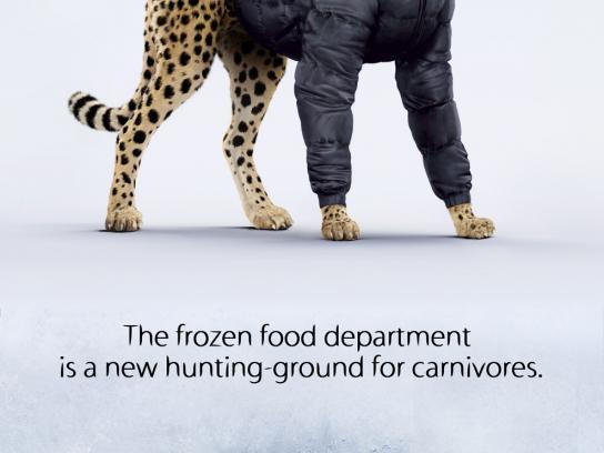Charal Print Ad -  Cheetah