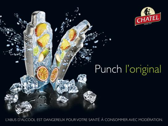 Chatel Print Ad -  Punch