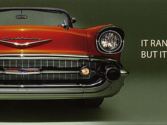 Chevrolet Print Ad -  Electric