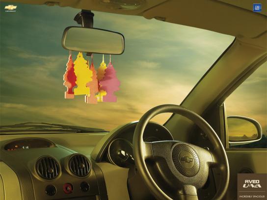 Chevrolet Print Ad -  Air fresheners