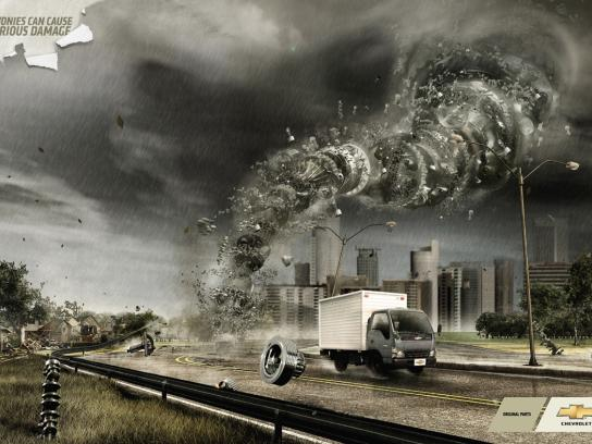 Chevrolet Print Ad -  Twister