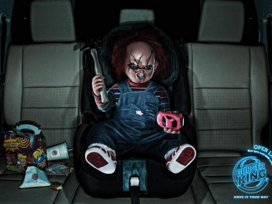 Burger King Print Ad -  Chucky