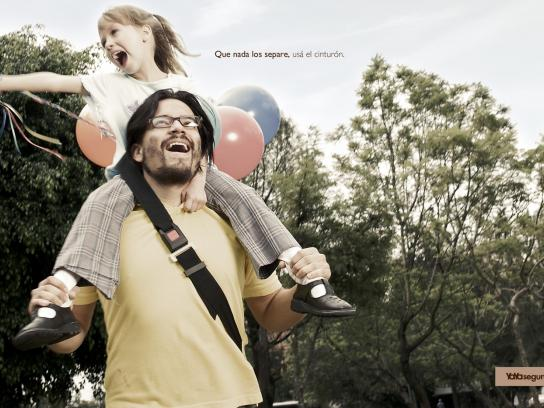 Yaya Print Ad -  Father and child