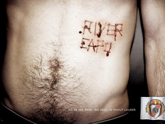 River Plate Print Ad -  Clamp