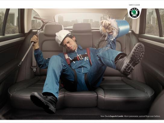 Skoda Print Ad -  Cleaner