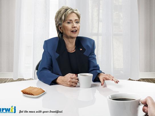 Tarwij Print Ad -  Clinton