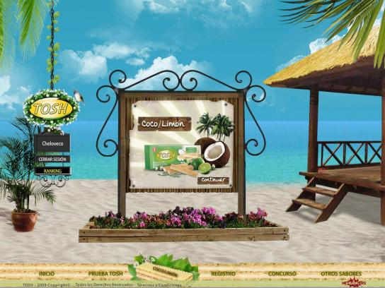 Tosh Digital Ad -  Beach