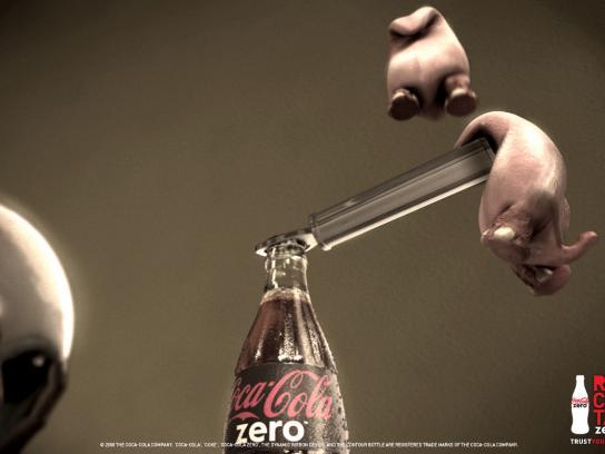 Coca-Cola Zero Print Ad -  Open