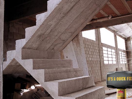 Coroa Print Ad -  Sledgehammer, Stairs