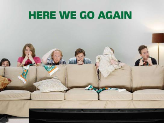 Carlsberg Outdoor Ad -  Couch