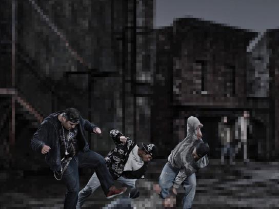 Crime Stoppers Print Ad -  Gang violence