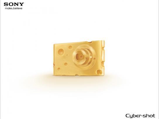 Sony Print Ad -  Cheese