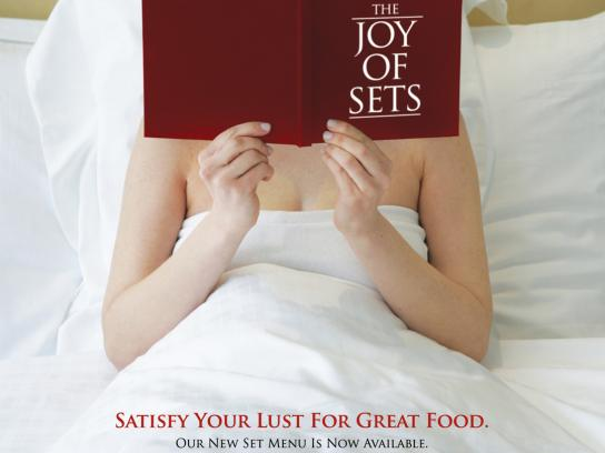 Dallas Restaurant & Bar Print Ad -  The Joy Of Sets