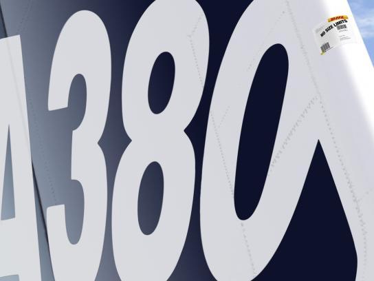 DHL Print Ad -  A380
