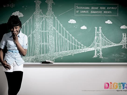 Digits Print Ad -  Engineers