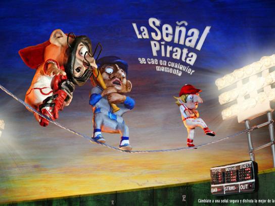 DIRECTV Print Ad -  Baseball