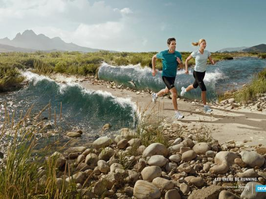 Decathlon Print Ad -  Operation Running
