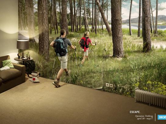Decathlon Print Ad -  Operation trecking