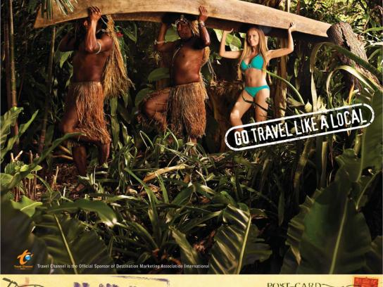 Destination Marketing Association International Print Ad -  Go travel like a local, 3