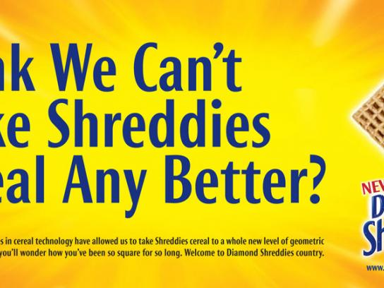 Post Shreddies Print Ad -  Better
