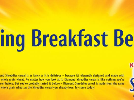 Post Shreddies Print Ad -  Breakfast