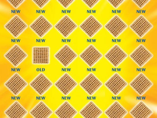 Post Shreddies Print Ad -  New, new, new
