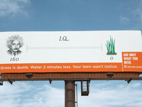 Denver Water Outdoor Ad -  IQ