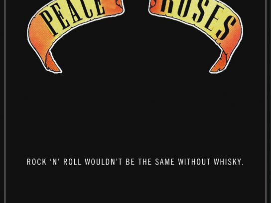 DYC Print Ad -  Peace N' Roses