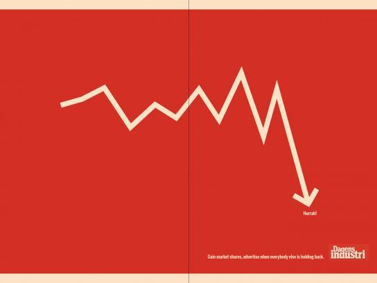 Dagens Industri Print Ad -  Recession-2