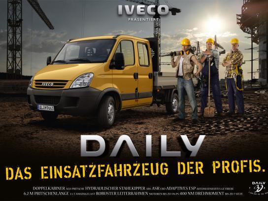 Iveco Print Ad -  Iveco presents, 2