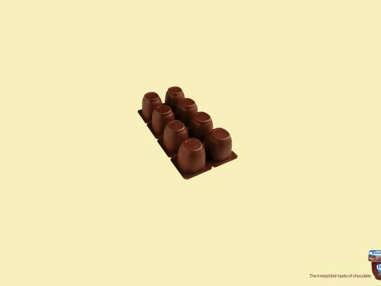 Danone Print Ad -  Chocolate bar