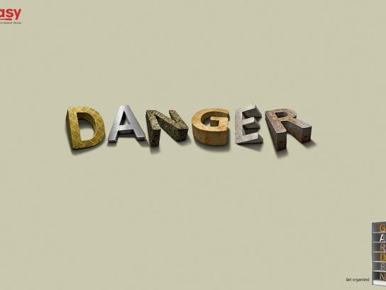 Easy Print Ad -  Danger