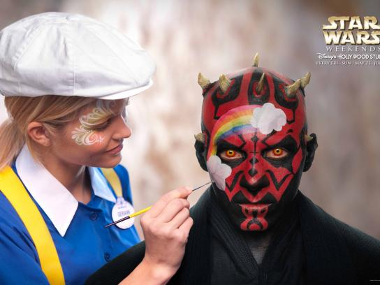 Disney Print Ad -  Darth Maul