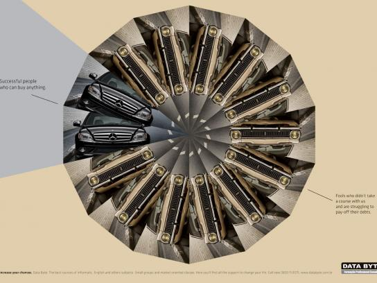 Data Byte Print Ad -  Car
