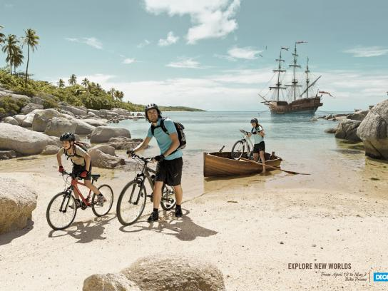 Decathlon Print Ad -  Cycle
