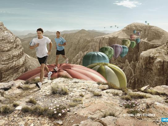 Decathlon Print Ad -  Running