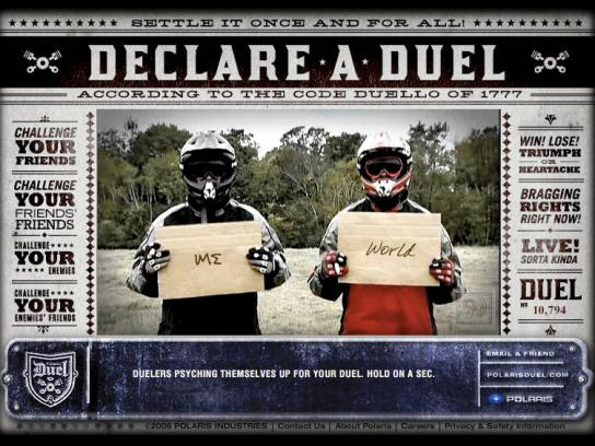 Declare a duel