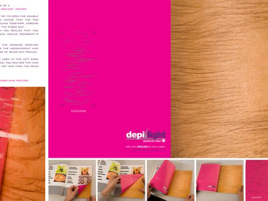 Depilight Ambient Ad -  Evolution