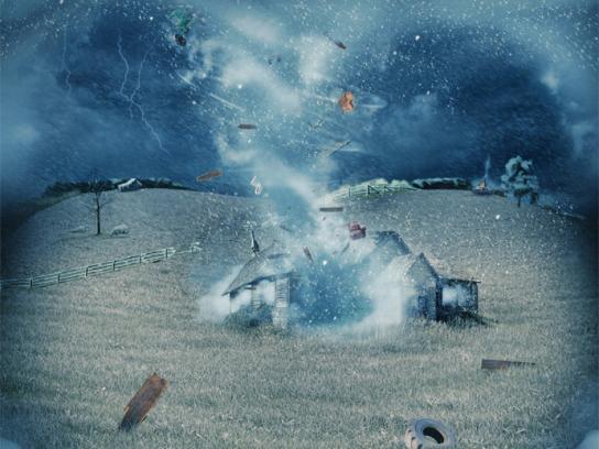 Dentyne Print Ad -  Tornado