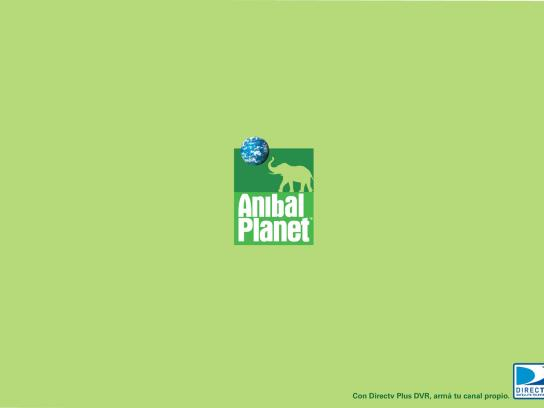 DIRECTV Print Ad -  Anibal Planet