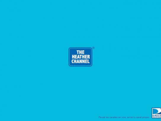 DIRECTV Print Ad -  The Heather Channel