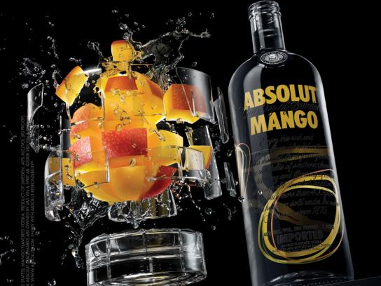 Absolut Print Ad -  Dissect, Mango