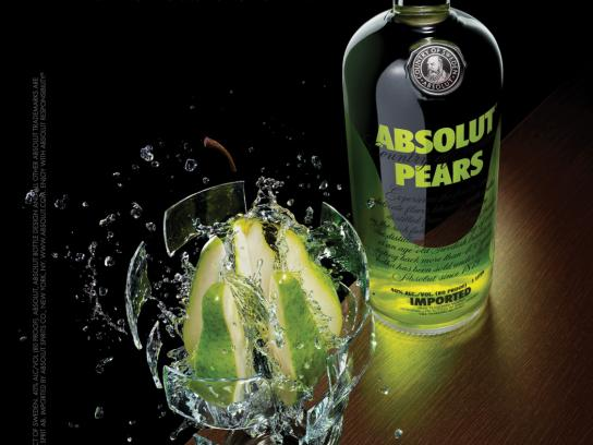 Absolut Print Ad -  Dissect, Pear
